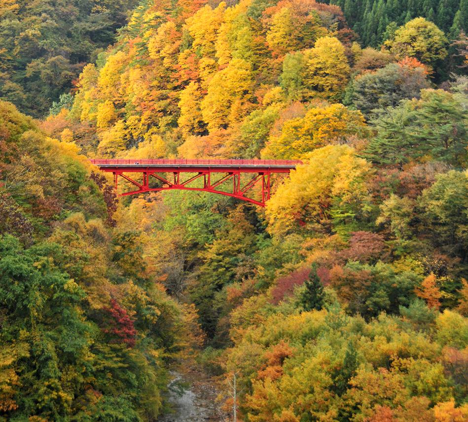 山田温泉 高井橋